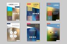 Brochure design template. Vol.4