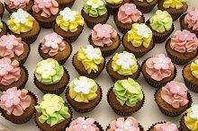 Cupcakes decorated