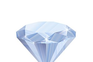 Dazzling shiny diamond