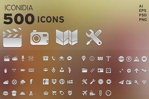 500 Icons - Iconidia