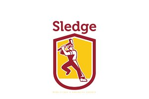 Sledge Demolitions Specialist Logo