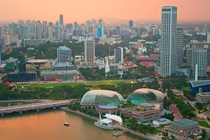 Singapore multicolored