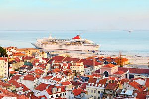 Lisbon famous tourist destination