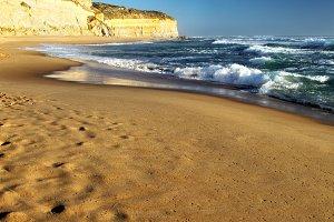 Beach at Gibson Steps