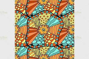colorful seamless abstract pattern