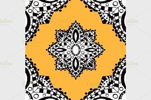 Geometric seamless pattern.