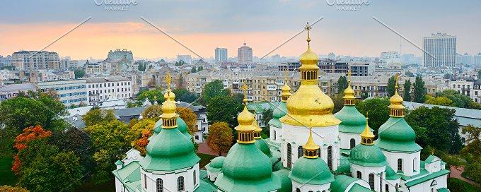 Cupola of St. Sophia Cathedral. Kiev - Photos