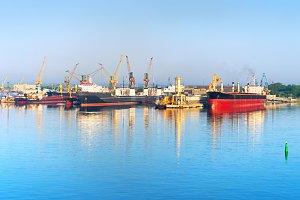 Chornomorsk (Ilyichevs) sea port