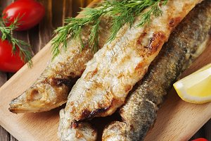 Traditional russian fish