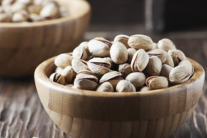 Salt pistachio