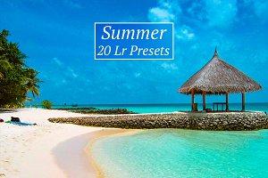 20 Summer Lr Presets