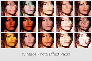 Vintage Overlay Photo Effect
