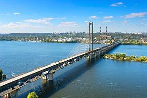 Southern Bridge in Kiev