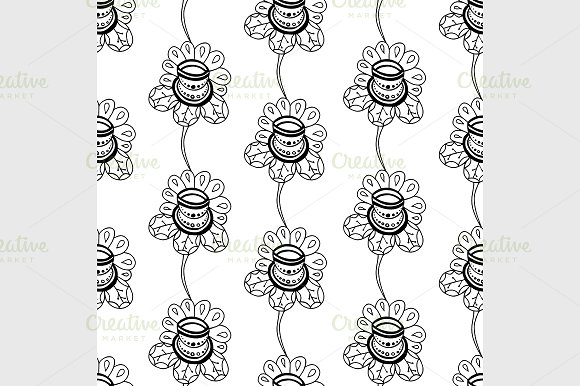 Floral seamless pattern in Graphics