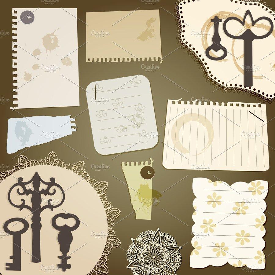 Vector Scrapbook Design Elements Vi Graphics Creative Market