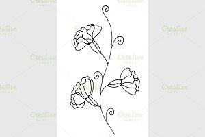 Contour Flower