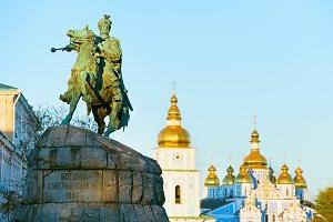 B.Khmelnytsky monument, Kiev,Ukraine