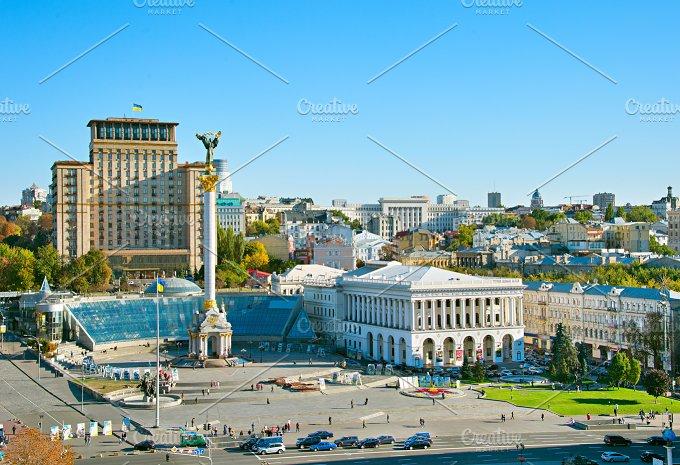 Independence Square. Kiev, Ukraine - Architecture