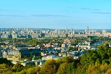 Kiev panoramic view