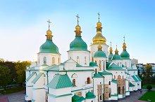 Famous St. Sophia Cathedral. Ukraine