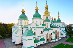 Famous St. Sophia Cathedral. Ukraine