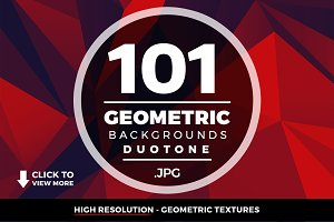 Geometric Triangle Backgrounds 101+