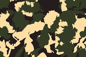 Green Forest seamless camouflage