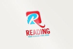 Reading - R Letter Logo