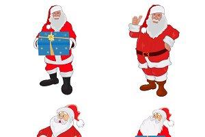 Santa Claus, vector