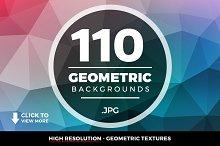 Geometric Triangle Backgrounds 110+