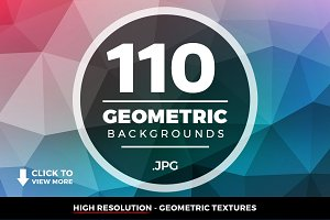 Geometric Triangle Backgrounds 110+