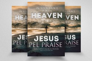 Jesus Church Flyer Templates