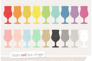 Cocktail Glass Clipart