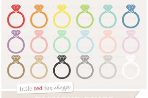 Diamond Ring Clipart