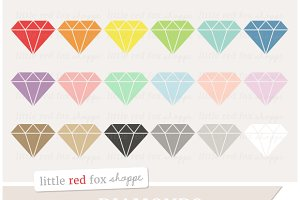 Diamond Gem Clipart