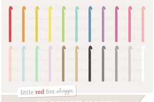 Crochet Hook Clipart