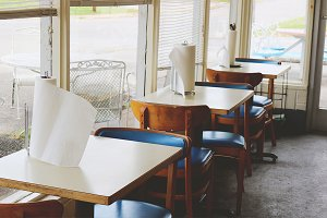 Empty Southern Diner