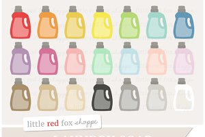 Laundry Soap Bottle Clipart