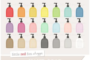 Hand Soap Clipart