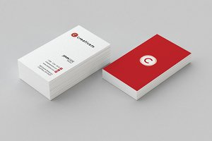 Minimal Business Card Template 1