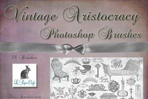 Vintage Royal Aristocracy Brush Set