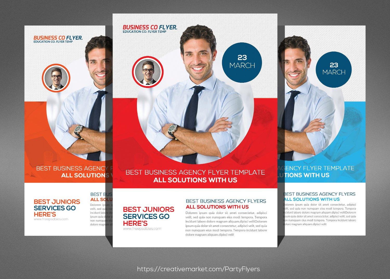 job expo career fair flyer flyer templates on creative market