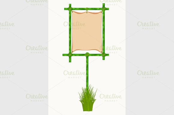Bamboo frame in Graphics