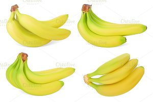 Set of Bananas