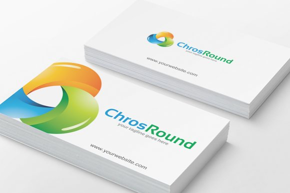 ChrosRound Logo in Logo Templates - product preview 2