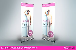 Fashion Style Roll-Up Banner - SB
