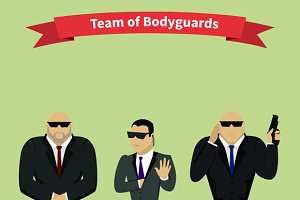 Bodyguards Team People Group