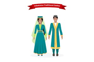Uzbekistan Traditional Clothes
