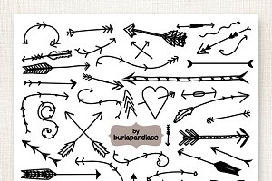 Vector Arrows Clipart