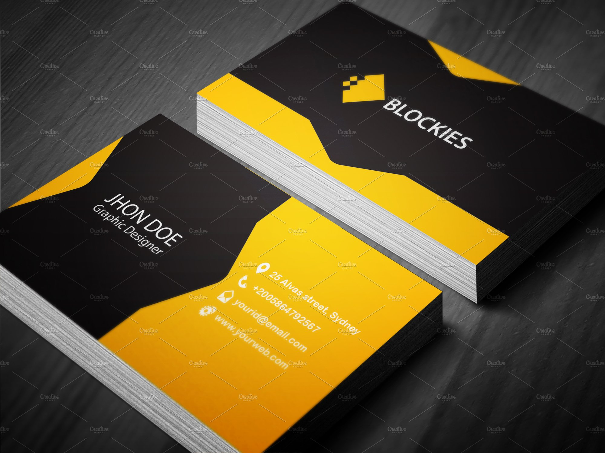 Creative Business Card Template Business Card Templates - Business card templates designs